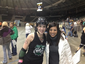 My first trip to the Roller Derby