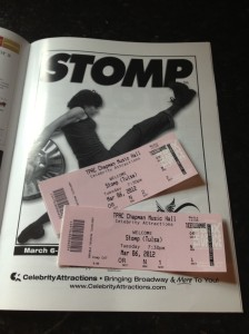 Celebrity Attractions Presents Stomp at the PAC