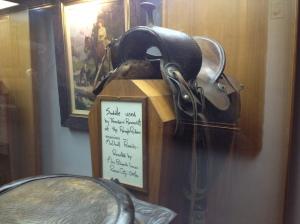 President Saddle in Oklahoma