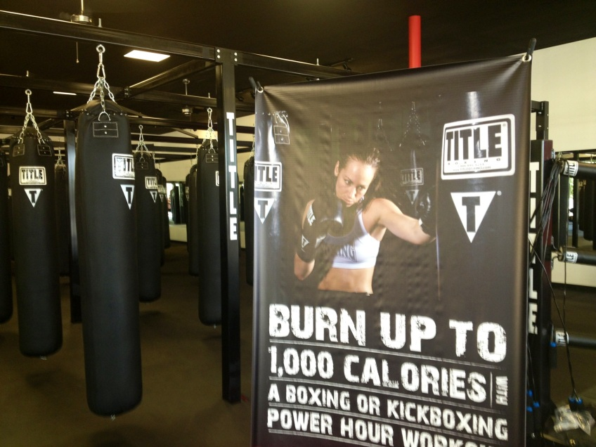 Title Boxing Club Poster
